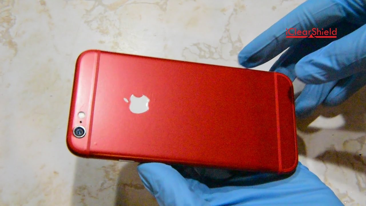 red iphone 6 iphone 6 and 7 skin kit how to install 12845