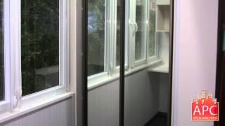 Капитальный ремонт и совмещение балкона П-57 с комнатой