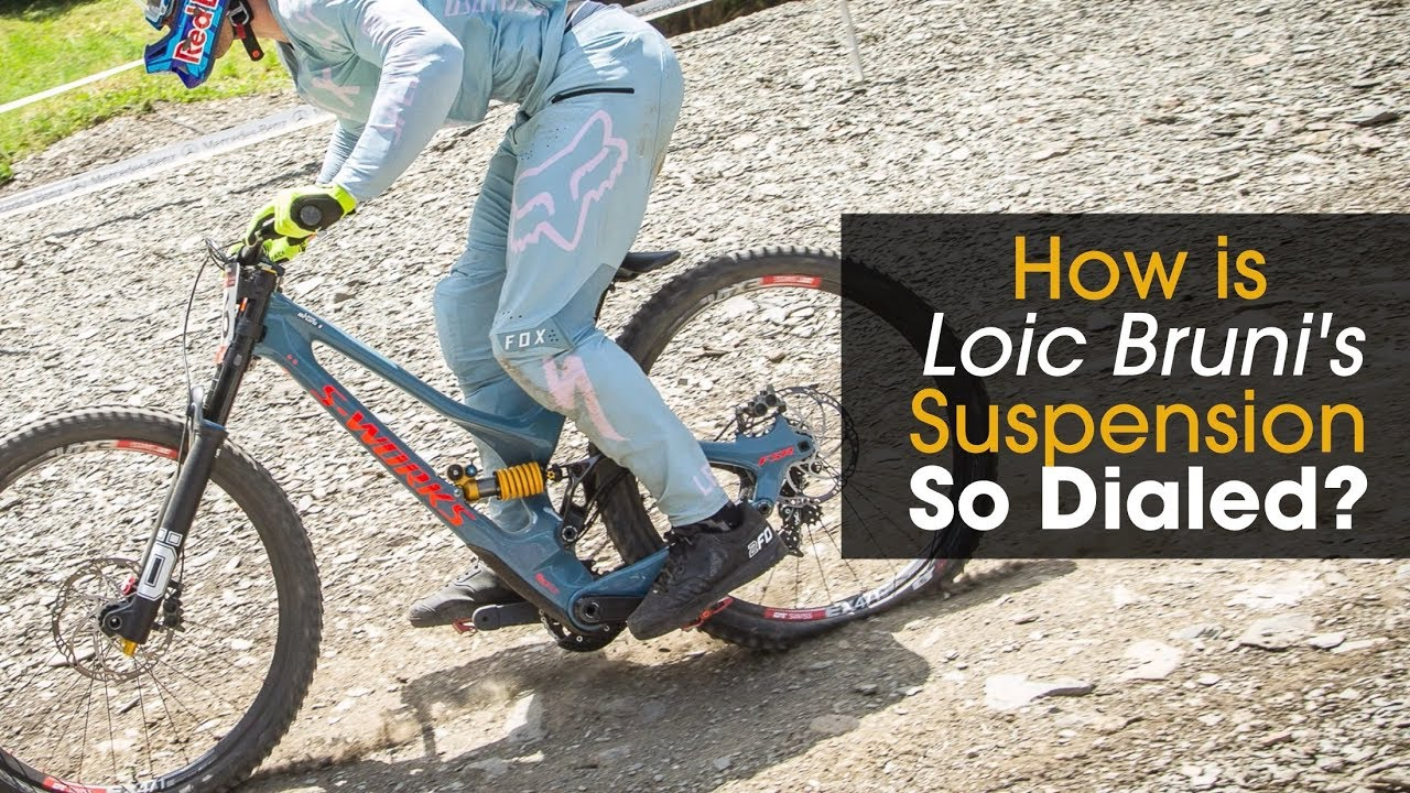 Why Does Loic Bruni's Suspension Work So Well? - Mountain
