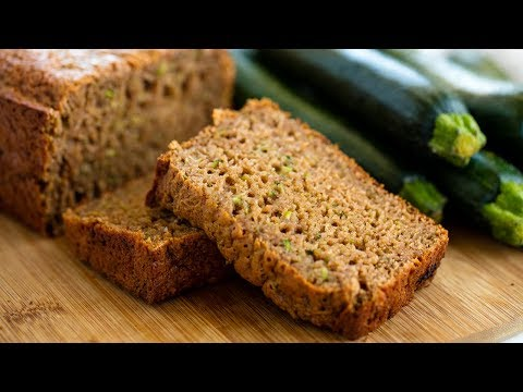 How to Make Healthy Zucchini Bread | The Stay At Home Chef