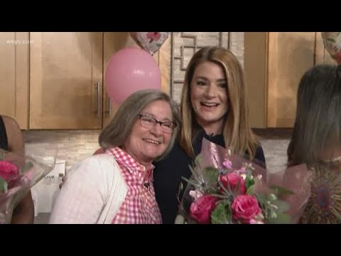 Mother's Day surprise on live TV brings tears