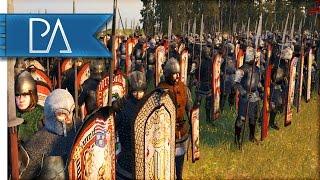 BRUTAL SIEGE BATTLE - Medieval Kingdoms Total War 1212AD Gameplay
