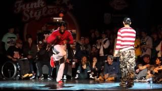 Funk Stylers Battle Vol.5 Locking semi final 4-2