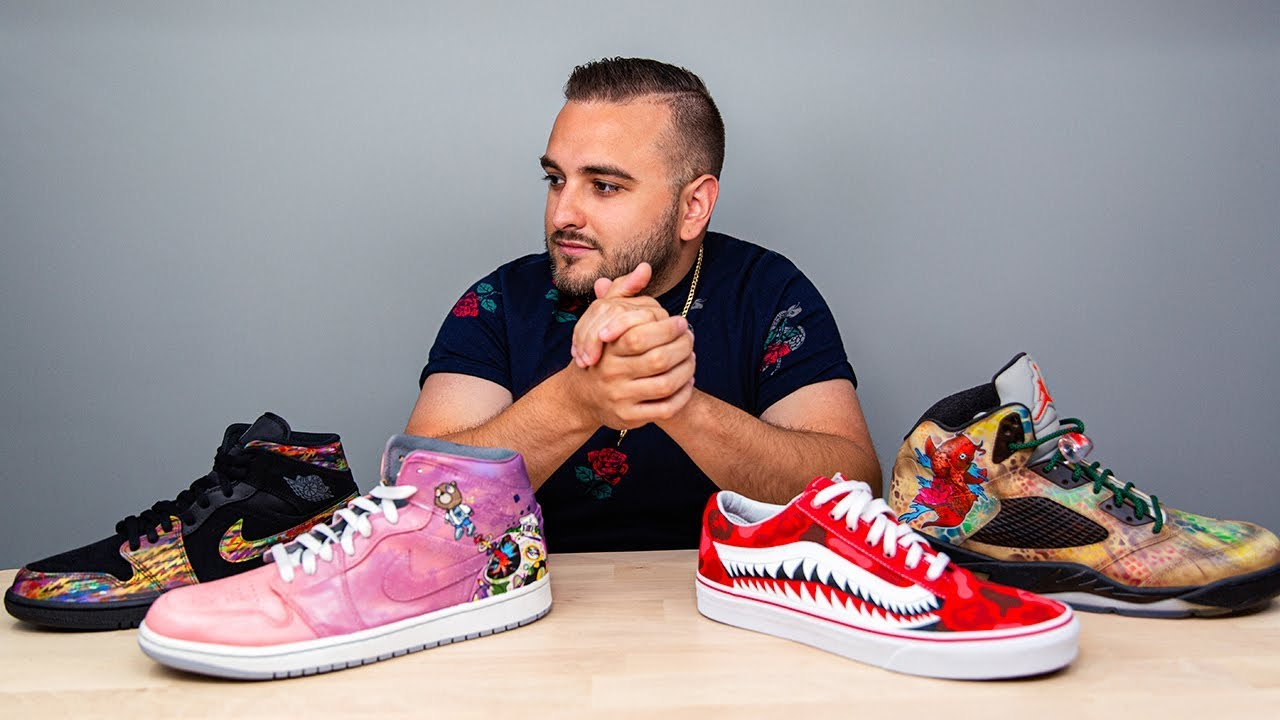 CUSTOMIZING SHOES: 4 Things You NEED To
