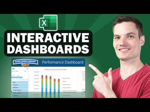 📊 How to Build Excel Interactive Dashboards