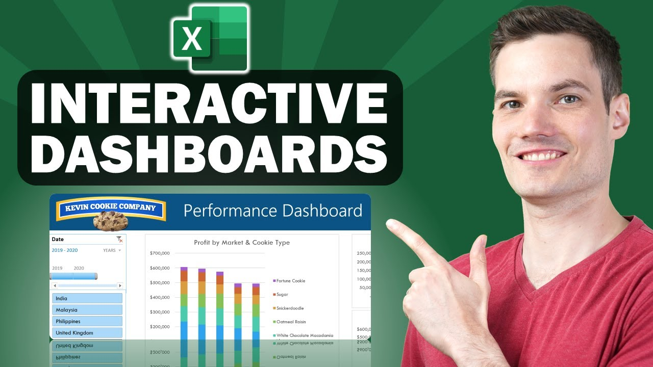 ? How to Build Excel Interactive Dashboards