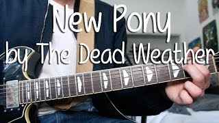"""How to Play """"New Pony"""" by The Dead Weather (Full Song)"""