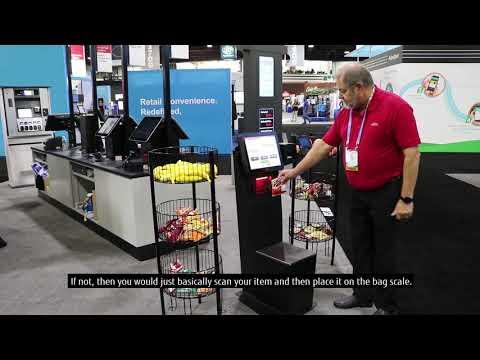Fujitsu U-Scan Demo   National Association of Convenience Stores