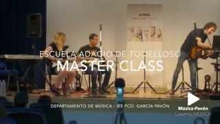 La escuela Adagio en nuestro IES: Master Class Música Pop