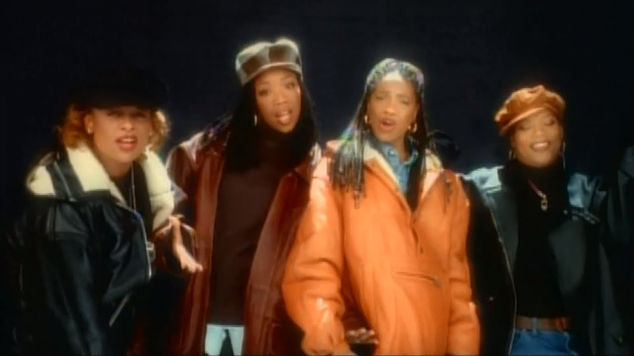 Brandy ft  MC Lyte, Yo-Yo & Queen Latifah - I Wanna Be Down (The Human  Rhythm Hip Hop Remix)