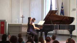 Dvorak.Slavonic dance,Op.46 No.8 in G minor  By Hilary Ho and Cindy Tsang