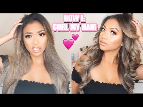HOW I CURL MY HAIR (HIGHLY REQUESTED) | LOVEEMANDA