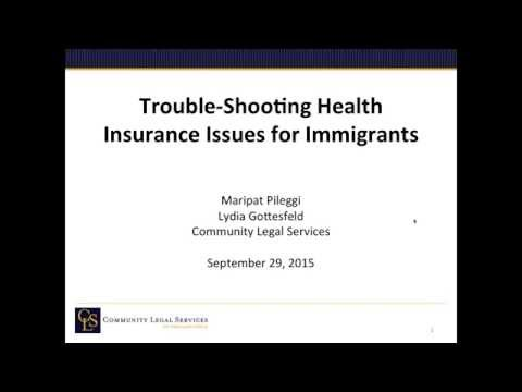 Troubleshooting Complex Immigration Issues for Enrollment Assisters 9 29 15, 11 02 AM
