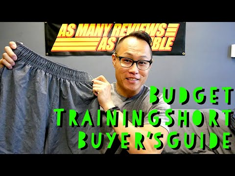 The BUDGET Training Short Buyer's Guide! (2019)
