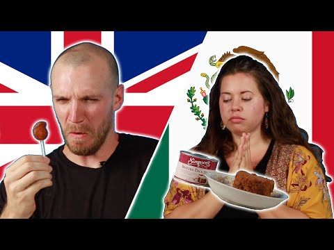 Mexican & British People Swap Snacks