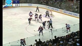Олимпиада - 2002 Солт-Лейк-Сити. Полуфинал. Россия - США