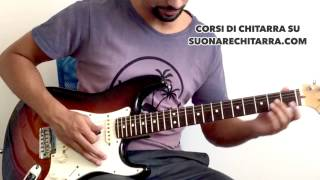 Assoli di Chitarra Famosi e Facili: We Will Rock You dei Queen (Tutorial Chitarra)