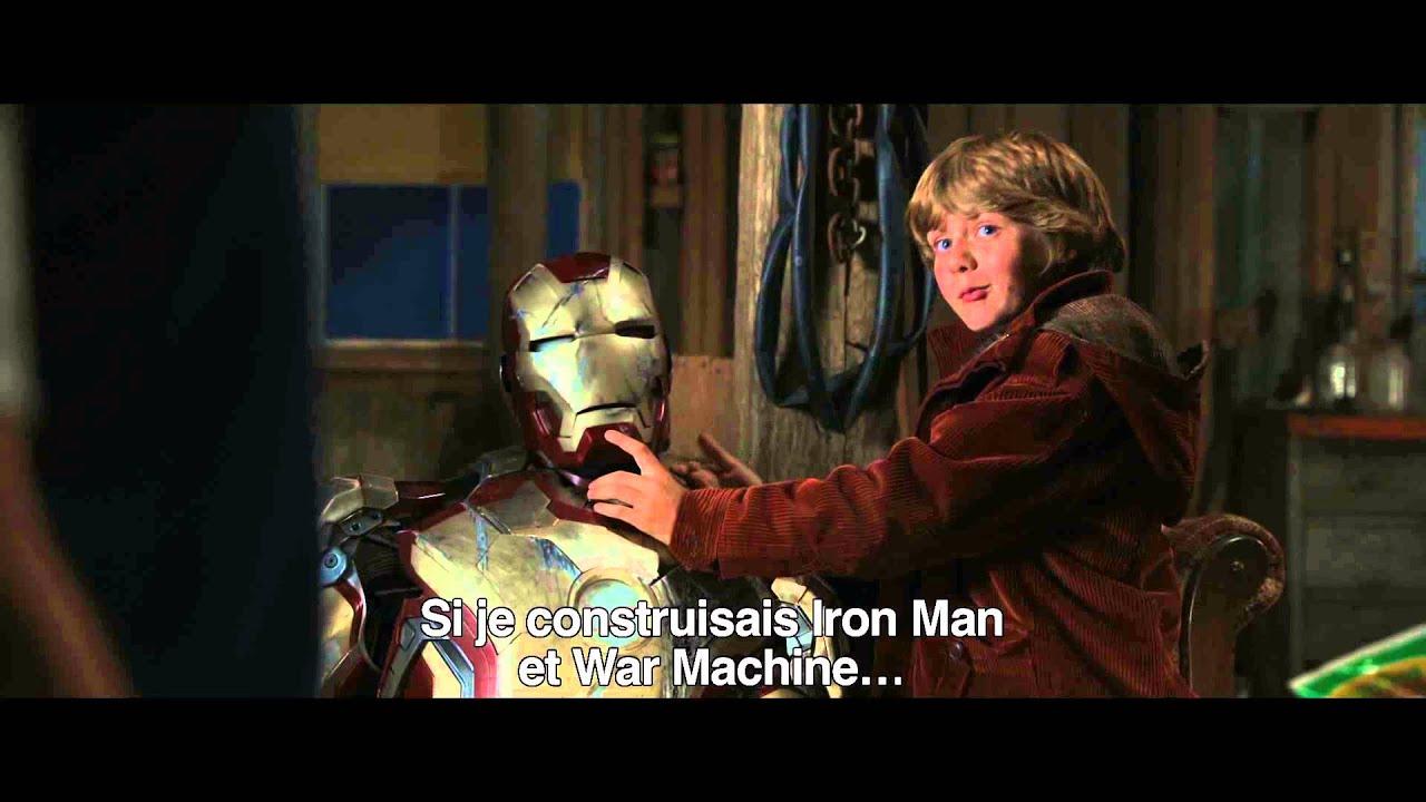 Iron Man 3 : Extrait « Tony rencontre Harley » - VOST