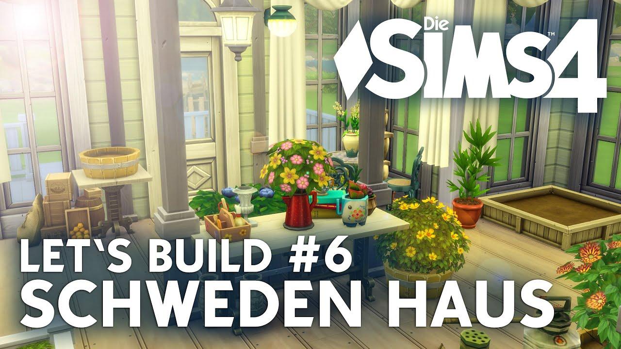 Die sims 4 let 39 s build schweden haus 6 wintergarten for Modernes haus sims