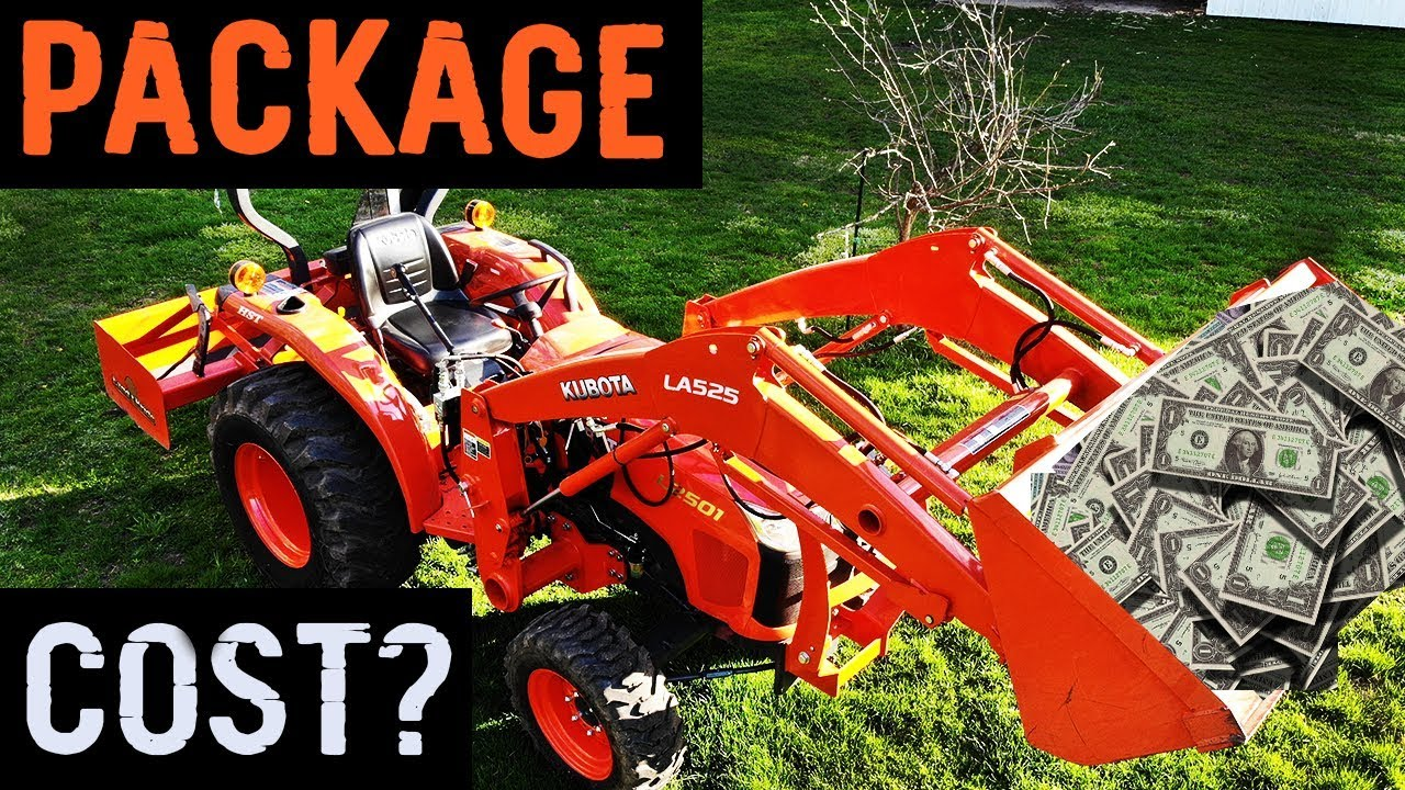 Kubota L2501 Tractor - How much did it cost?