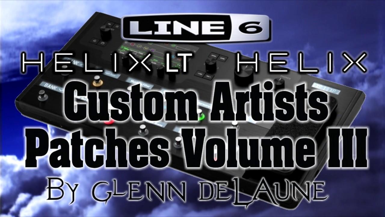 line 6 helix helix lt foo fighters patch demo by glenn delaune youtube. Black Bedroom Furniture Sets. Home Design Ideas