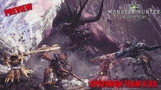 Monster Hunter: World / Preview Speedrun Bégimo/Behemoth 5'03 -En Español HD 1080p