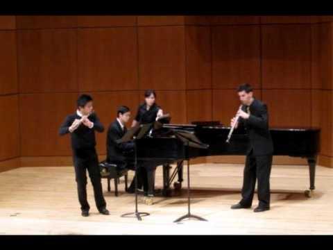 Paul plays Messiaen Le Merle Noir