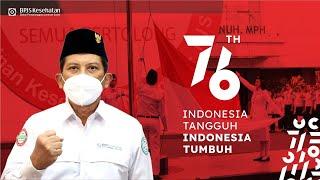 MESKI DITENGAH PANDEMI, OPTIMISME HARUS TETAP TUMBUH   DIRGAHAYU REPUBLIK INDONESIA KE-76