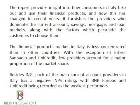 Global Retail Banking Industry | Italy Banking Industry Research | Ken Research