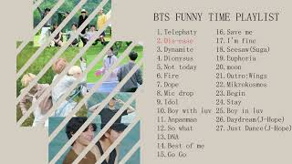 BTS Funny Time Playlist///Chill,Funny,Bored Time