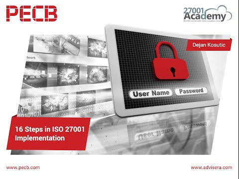16 Steps in the ISO 27001 Implementation