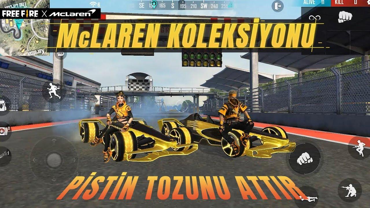 [FF x McLaren] FF x McLaren İşbirliği Koleksiyonu   Garena Free Fire