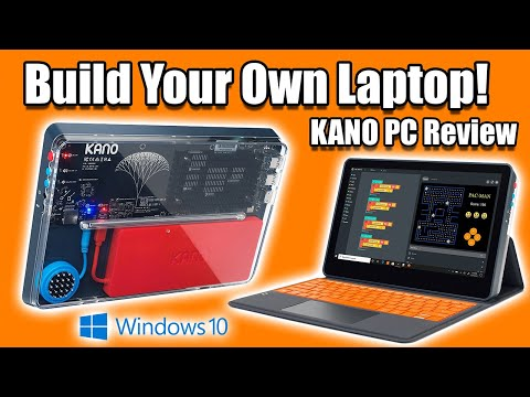 """Build A Windows 10 Laptop """"Sort Of"""" with the KANO PC!"""