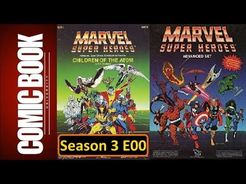 FASERIP Season 03 Episode 00 - Marvel Super Heroes RPG | COMIC BOOK UNIVERSITY