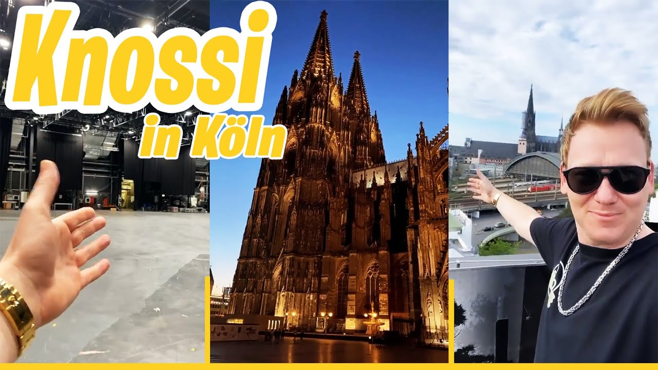 KNOSSI in KÖLN😍 Besuch bei ProSieben!   Knossi-Stories  