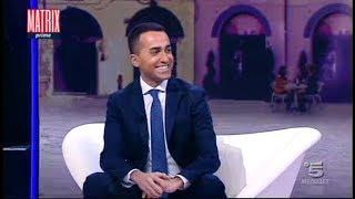 Luigi Di Maio a Matrix (INTEGRALE) 28/2/2018