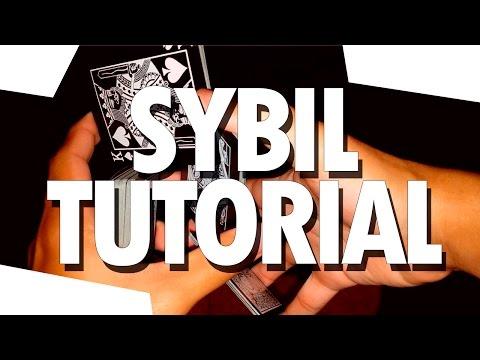 Aprende Cardistry // Sybil Cut en 5 min // TUTORIAL de Florituras con Cartas en Español