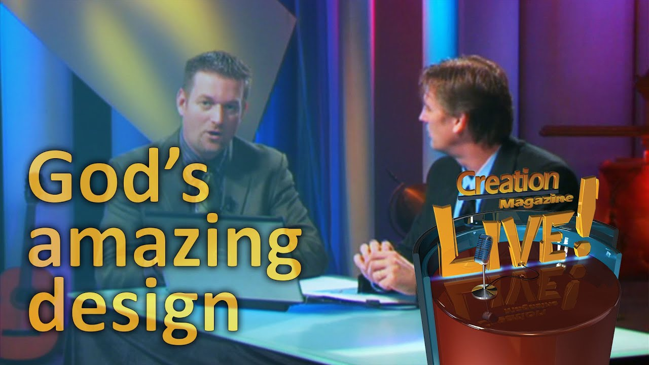 God's amazing design -- Creation Magazine LIVE! (2-06) by CMIcreationstation