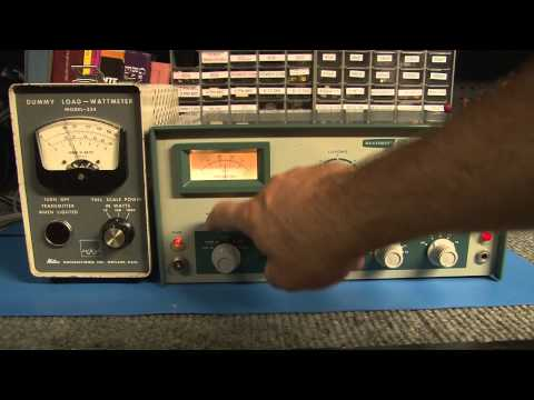 Repeat EF Johnson Ranger Transmitter AM CW 6146 Tube Rig
