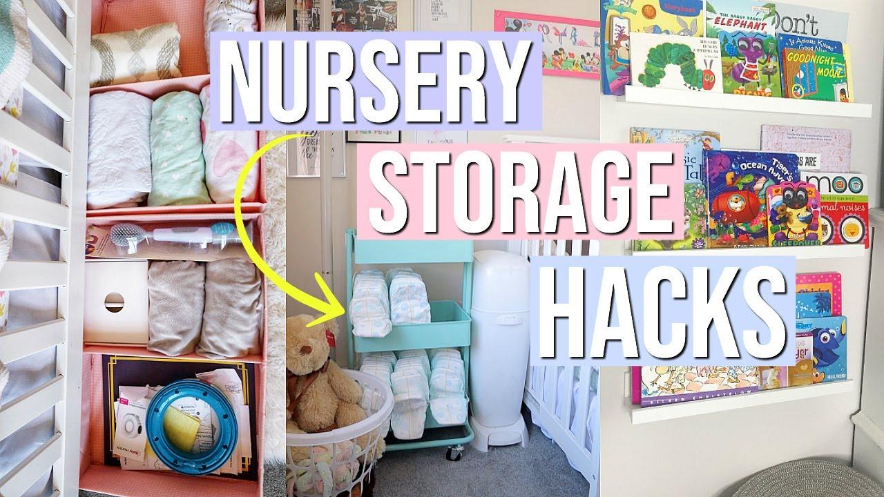 Nursery Organization Ideas Book Diapers Clothes More Small Nia Nicole