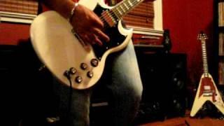 NEBULA  'Giant'  rhythm guitar cover  stoner rock