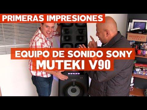 Muteki V90: Conoce este poderoso equipo de sonido con @jmatuk y @japoton