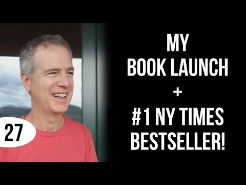 Day 27: My book Launch + #1 NY Times Bestseller!
