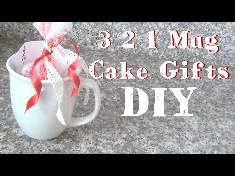 3 2 1 Mug Cake Gifts ♥ 12 DIYs Of Christmas