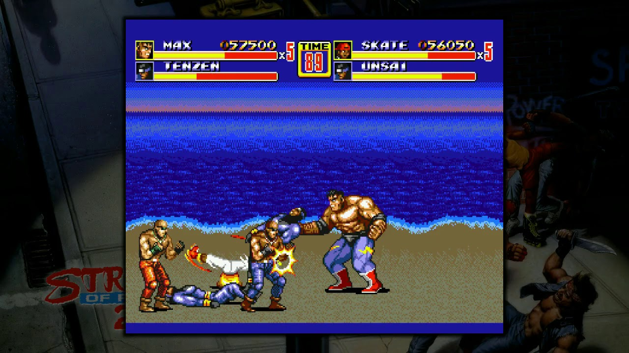 What I got for Free: Streets of Rage Collection (Streets of Rage II - Part 2)