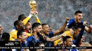 French celebrate world cup victory