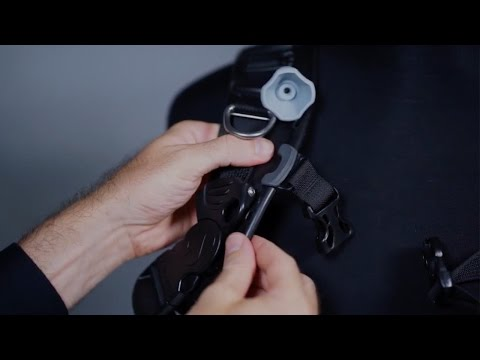 Hydros Pro Info | HYDROS PRO: Chest strap height adjustment
