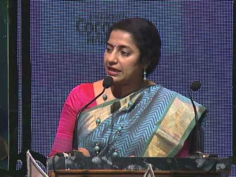 Suhasini Mani Ratnam Speech - Woman Achiever Awards 2015