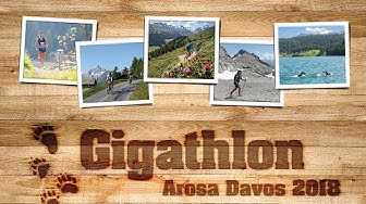 Gigathlon Switzerland 2018 in Arosa/Davos