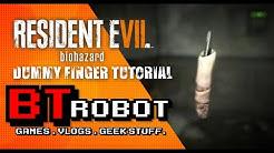 Resident Evil 7 Demo : The Dummy finger Puzzle.